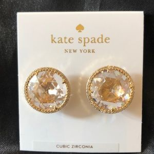 Kate Spade She Has Spark Stud Earrings NWT